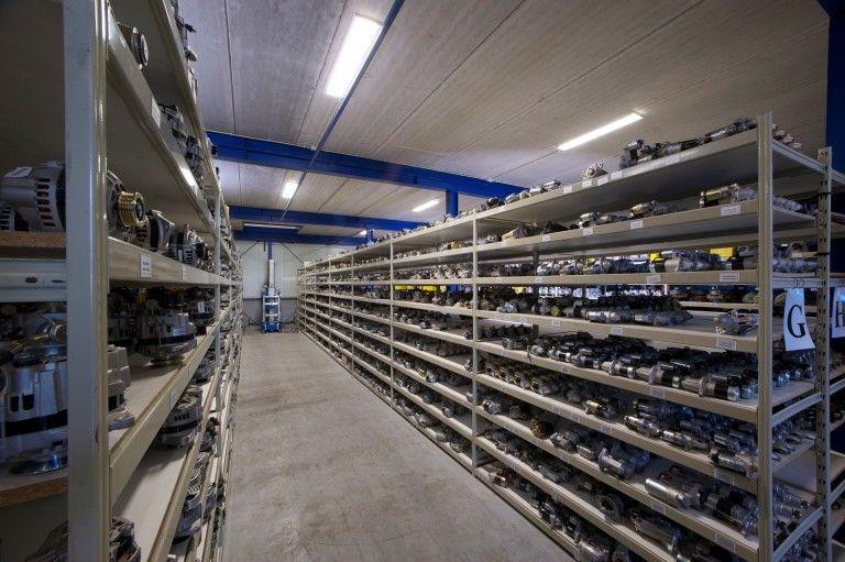 tennant onderdelen - magazijn